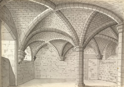 Hinton Priory, chapel vault